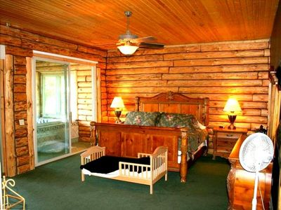 Log Cabin On Lake Approx 30 Min From Wis Dells Vrbo