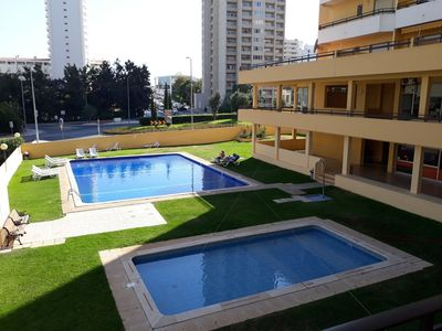 Photo for Praia da Rocha - T1 - Swimming pool - Sandy beach at 300m