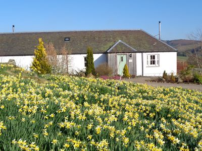 Photo for The Groose Hoose @ Dalnoid - private hot-tub, wifi, pets welcome, mountain views