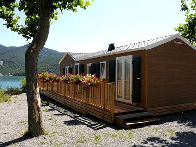 Photo for Mobile Homes L´Ecrin du Lac, Chorges  in Französisches Binnenland - 4 persons, 2 bedrooms