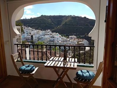 Photo for Perfectly positioned well appointed apartment in the center of competa