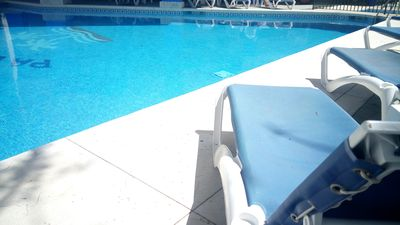 Photo for Torremolinos, La Carihuela, charming apartment, 50 meters from the beach, WIFI,