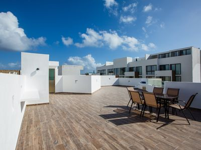 Photo for Central Huge PH with Private Rooftop-Jacuzzi-Parking