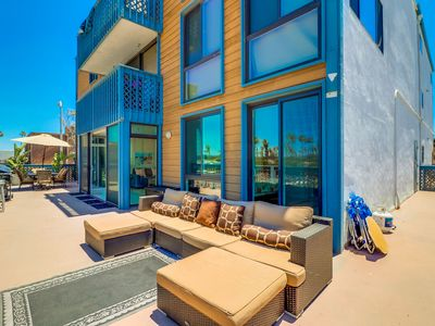 Photo for 🏝 UNMATCHED Private Ocean View Deck ☀️! Clean   Beach Condo w/ ocean views!