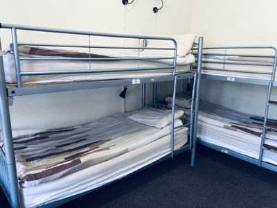 Photo for Single bed in 8 bed dorm - Alba Self Catering