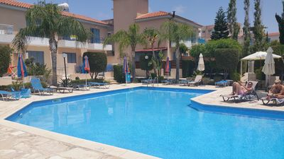 Photo for Luxury villa, pool, garden, private roof terrace, near  beach in Paphos, Cyprus