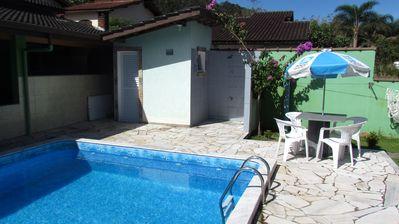 Photo for House in Gated Community 2 Bedroom Pool Praia da Mococa Caraguá with Wi-Fi