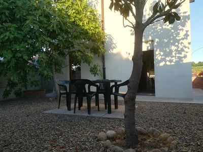 Photo for La casa del fico - Two-room apartment of about 50 square meters with a large garden