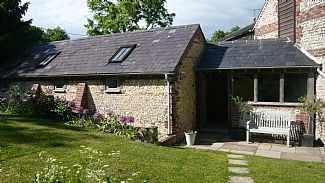 Photo for Cosy Converted Cowshed Sleeps 4 On top of the South Downs with breathtaking views