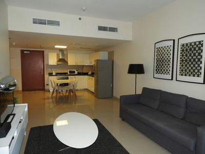 Photo for 1-bedroom apartment for daily rent in Abu Dhabi, UAE.