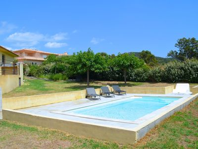 Photo for spacious villa with pool, near the most beautiful Corsican sites
