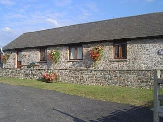 Ivy Cottage with Swallow Cottage adjoining.