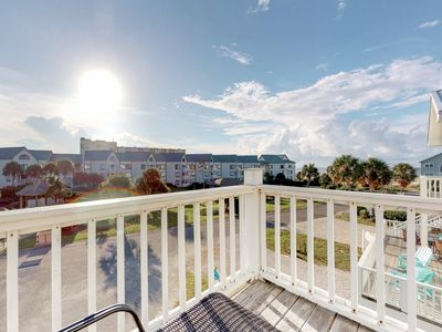Photo for Entire Gulf view duplex w/decks, beach access & shared pool/hot tub