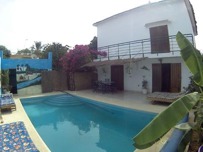 Photo for PRIVATE VILLA WITH POOL 5MN FROM THE SEA. 2 BEDROOMS, 4 PERS MAX