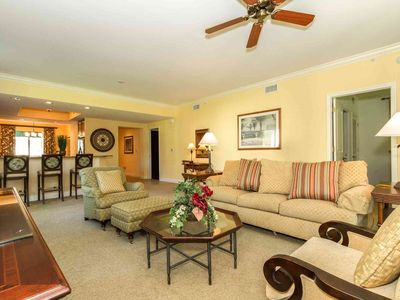 Photo for Cottages-Naples Bay- 1st Floor - Screened in Lanai- Full Resort Amenities;  Pool, Free Beach Shuttle