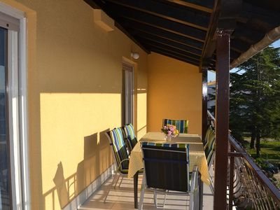 Photo for Two bedroom apartment with terrace and sea view Zadar - Diklo, Zadar (A-5880-a)
