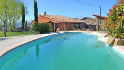 Photo for 5 bedroom Villa, sleeps 12 in Sant Genís with Pool and WiFi