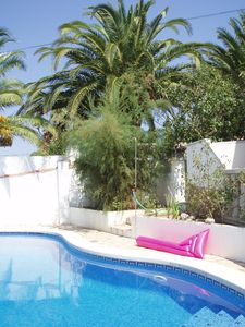 Photo for Spacious villa with private pool near beach, free wifi, airco - sleeps 8.