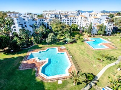 Photo for Three Bedroom Apartment In Front Of The Marina Of Puerto Banus, Marbella!