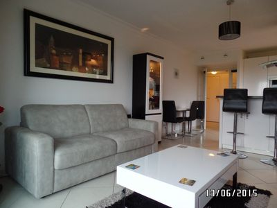 Photo for 2BR Apartment Vacation Rental in Juan les Pins, Alpes Maritimes