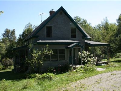 Photo for Beautiful Vermont Mountaintop on 10 Acres- House and Cabin