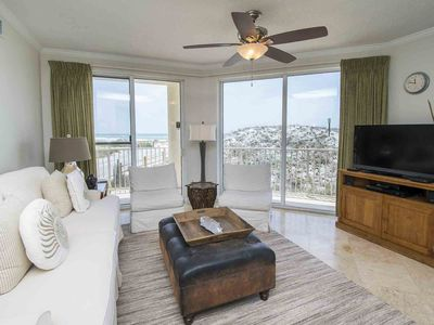 Photo for Beachfront Condo on 30A! Enjoy a Private Balcony and Great Resort Amenities!