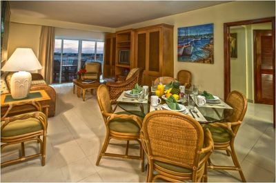 The Villas at Simpson Bay Resort & Marina Dining and Living Room