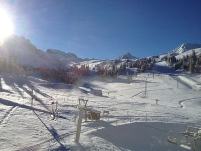 Photo for Plagne Bellecôte - Apartment 28m² - Residence 3000 at the foot of the slopes