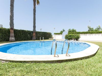 Photo for EUFORIA - Apartment with shared pool in PLAYA DE PILES.