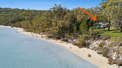 Photo for Fraser Island. Kingfisher Bay Resort's CLOSEST House to both the BEACH & RESORT