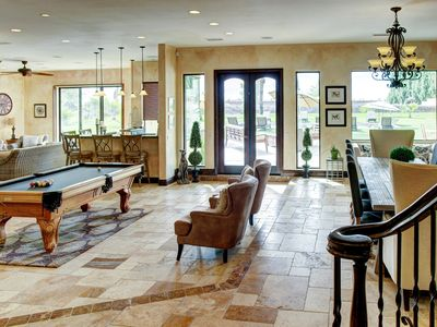Photo for Tuscan Villa Style Estate Home on ten-acres of private land