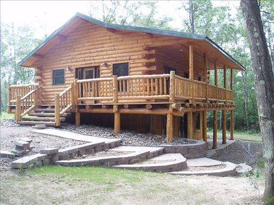 Photo for 3BR Cabin Vacation Rental in Willard, Wisconsin