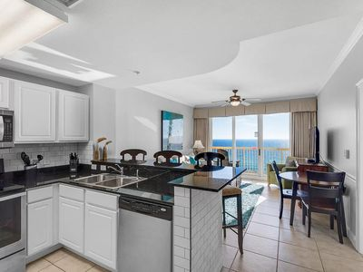 Photo for 1005 Calypso. Direct ocean front. Master on the gulf. 1BR. Fully updated.