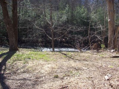 Photo for Tranquil, relaxing, quiet stream sIde camping