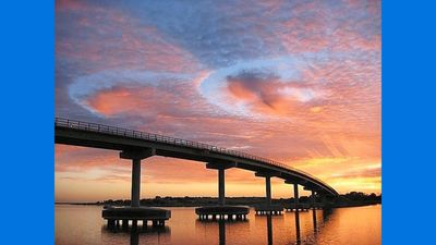 Cross the Bonner Bridge and leave your stress on the other side !!