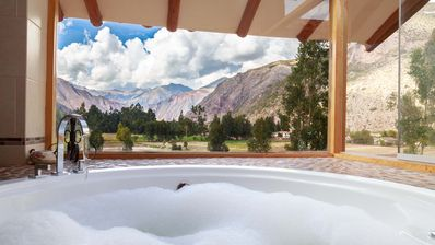Panoramic Hot Tub