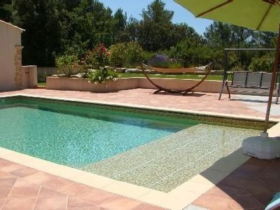 Photo for Air conditioned house, independent of 50 m2 with swimming pool in property in VENTABREN