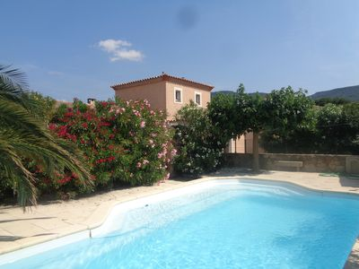 Photo for Villa with private pool 15 min from Carcassonne, 5 min from the Canal du Midi