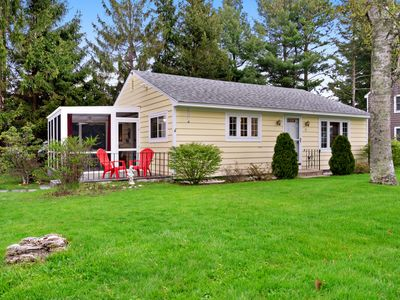 Photo for NEW LISTING! Family-friendly cottage w/screened-in porch & hammock-walk to beach