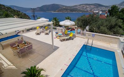 Photo for Beautiful 2 Bedroom Villa with Private Pool & Stunning Views, Very Near the Sea