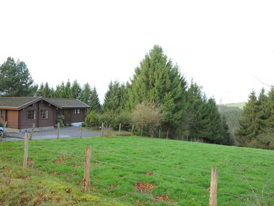 Photo for Traditional chalet with sauna, hot tub and relaxation space near La Roche