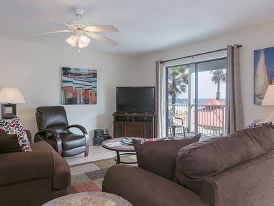 Photo for The Beach is Calling! 3 Bedroom 2 Bath Condo only footsteps from white sands.