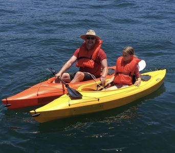 KAYAKS AVAILABLE during your stay!