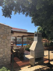 Photo for Bungalow with pool in Mandre, Pag