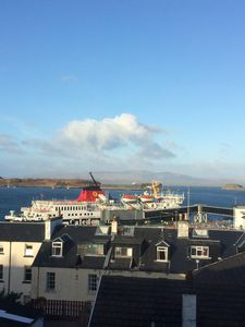 Photo for Modern Two Bedroom Apartment with Stunning Sea Views in Central Oban