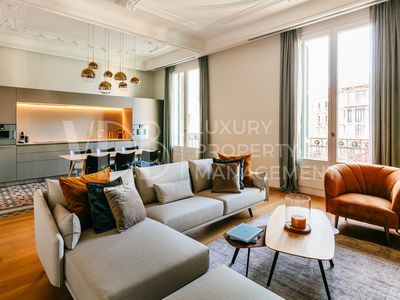 Photo for Luxury renovated historic apartment with 2 pools, gym, spa, concierge