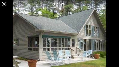 Photo for Yellow Bike Chalet on Grindstone Lake Sleeps up to 14 (20 with granny suite)