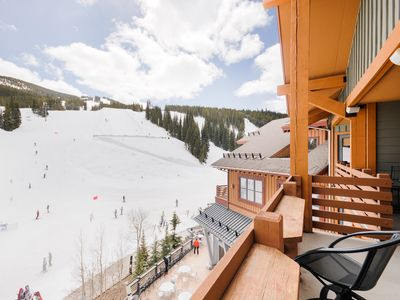 Photo for Balcony View at Half Pipe! Location! Newly Renovated Penthouse- Lift Central