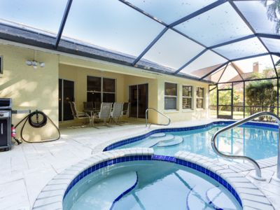 Photo for Serene & Attractive Pool Home Ideal Location - Gulf Beaches, Restaurants, Shops