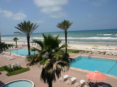 Photo for SP305 Sandpiper Lovely 3 bedroom 3 bath direct oceanfront condo.